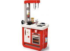Smoby Kuchyňka Bon Appetit červeno-bílá elektronická