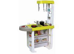 Smoby Kuchyňka Bon Appetit Cherry zeleno-šedá elektronická