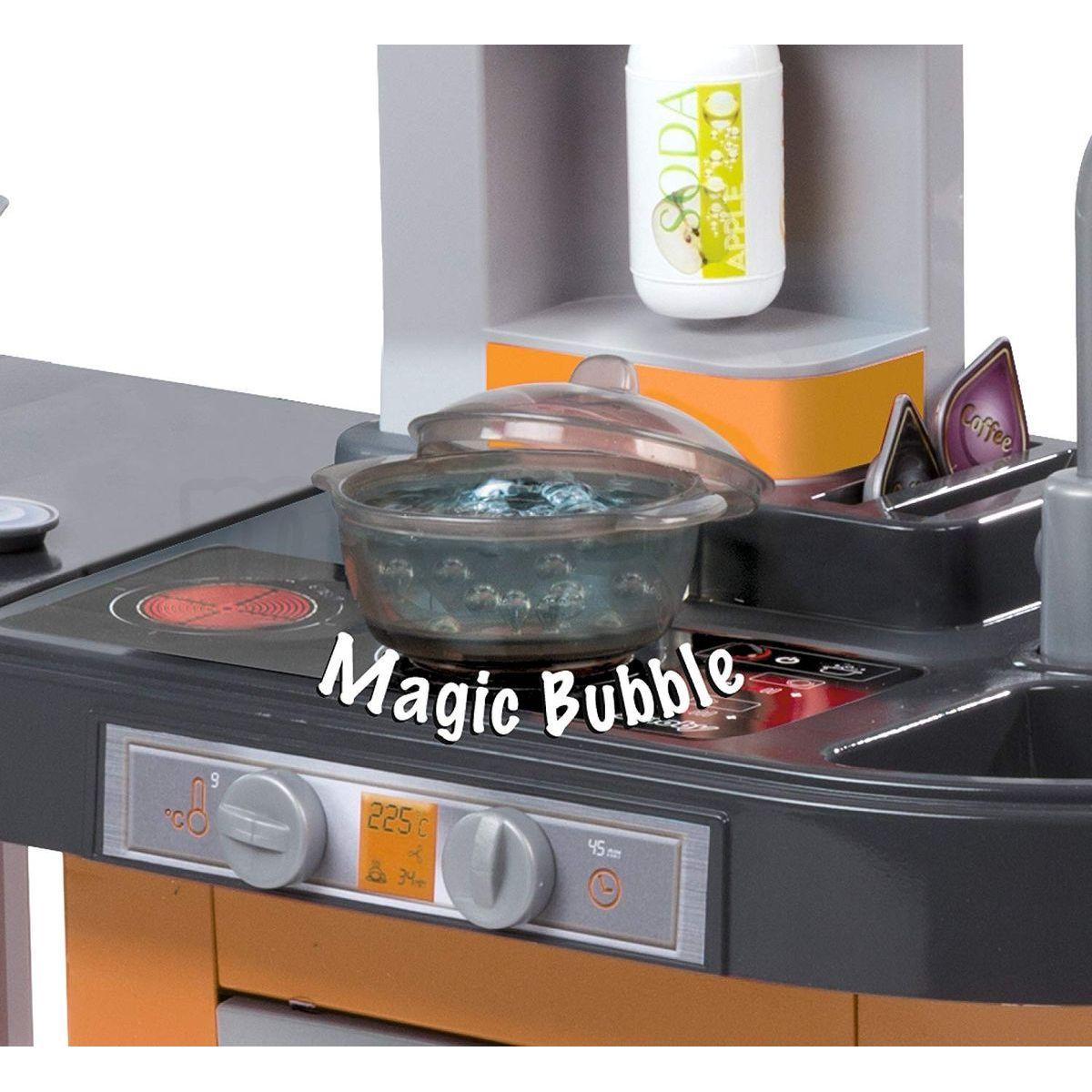c7a30c32e ... Smoby Kuchyňka Tefal Studio XL Bubble oranžovo-šedá elektronická 4 ...