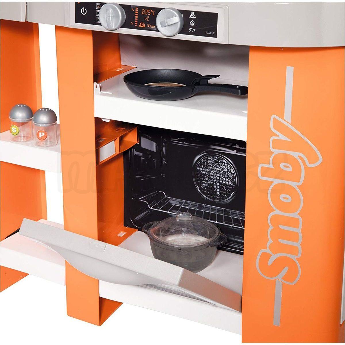 57744ce54 +5 dalších. Smoby Kuchyňka Tefal Studio XL Bubble oranžovo-šedá  elektronická 6 Smoby Kuchyňka Tefal Studio ...
