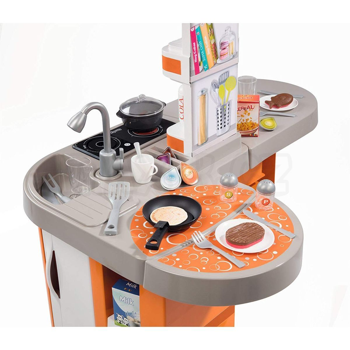 8419592c7 ... Smoby Kuchyňka Tefal Studio XL Bubble oranžovo-šedá elektronická 7