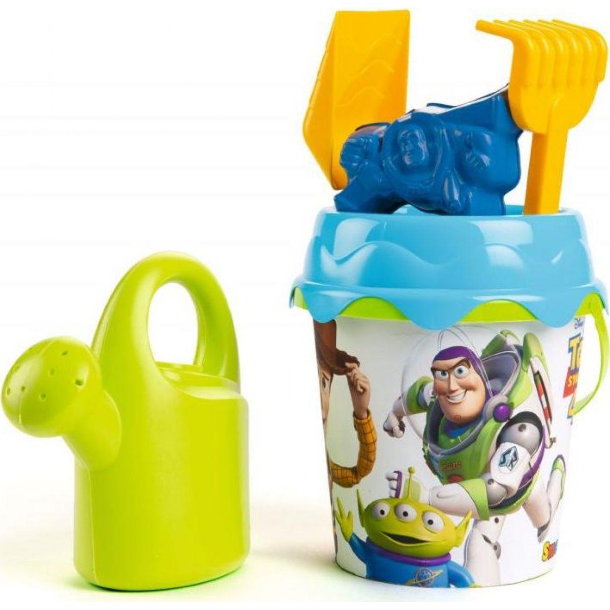 Smoby Kyblíček Toys Story s konvičkou a příslušentsvím