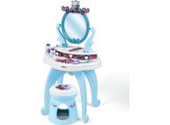 Smoby Ledové království 2 Toaletní stolek se židličkou 2v1