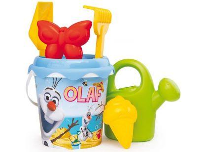 Smoby Ledové království Kyblíček Olaf s konvičkou a příslušenstvím