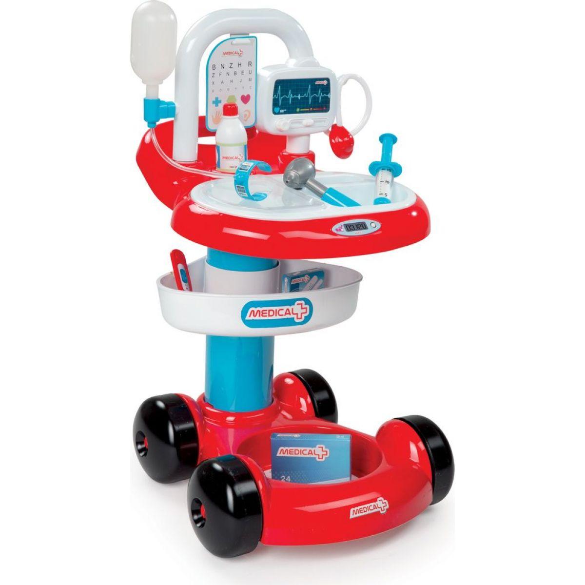 Smoby Lékařský vozík s příslušenstvím