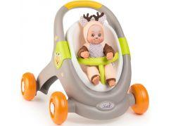 Smoby Minikiss Baby Walker 3v1 zvířátko