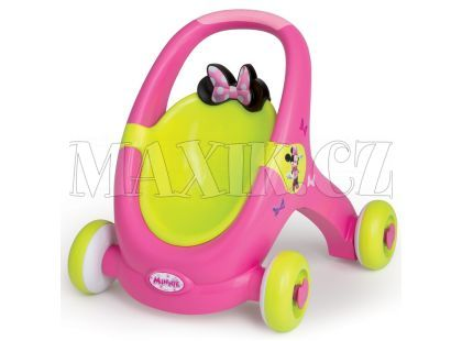 Smoby Minnie Baby Walker 2v1