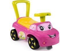 Smoby Odrážedlo Auto růžové