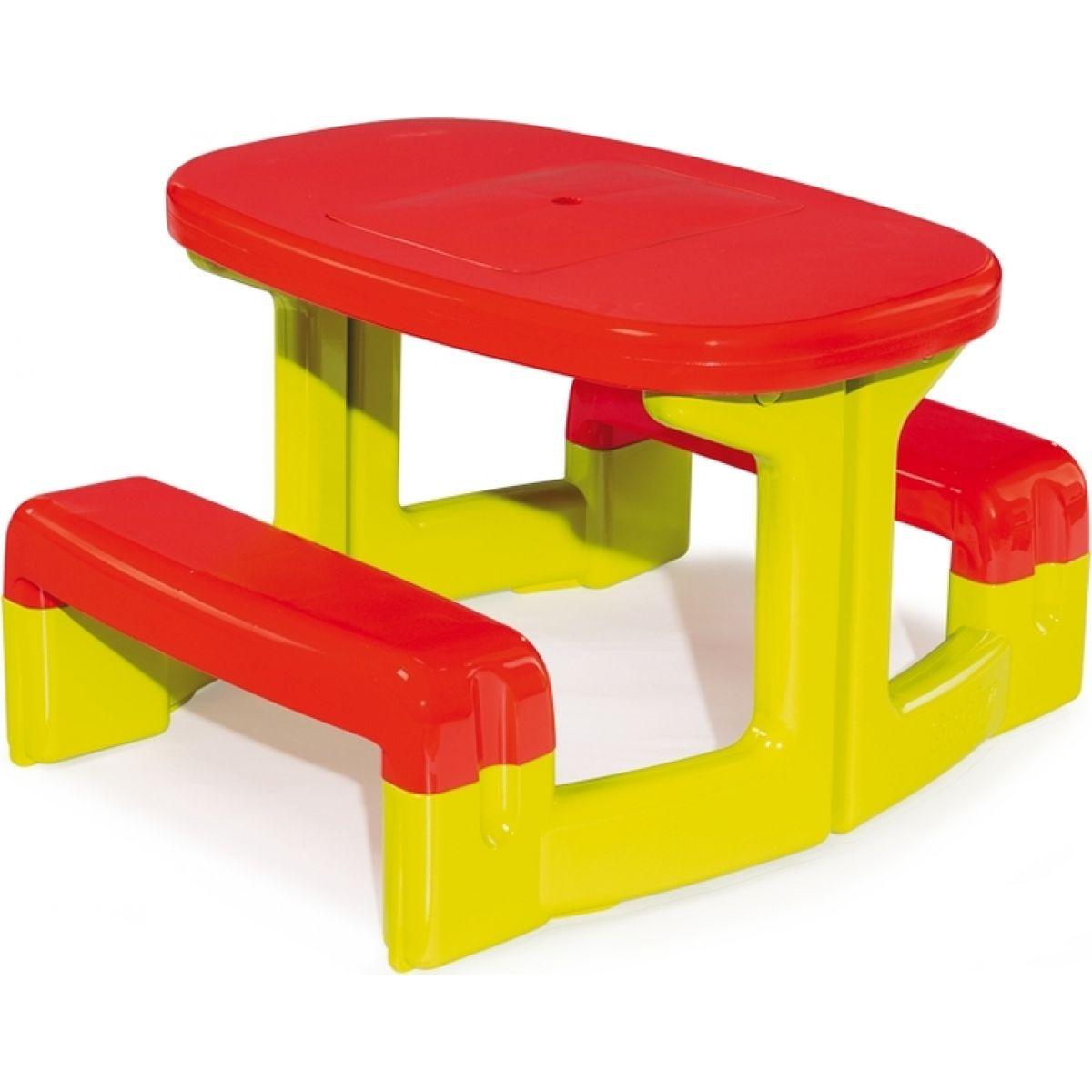 Smoby Piknikový stoleček s lavicemi