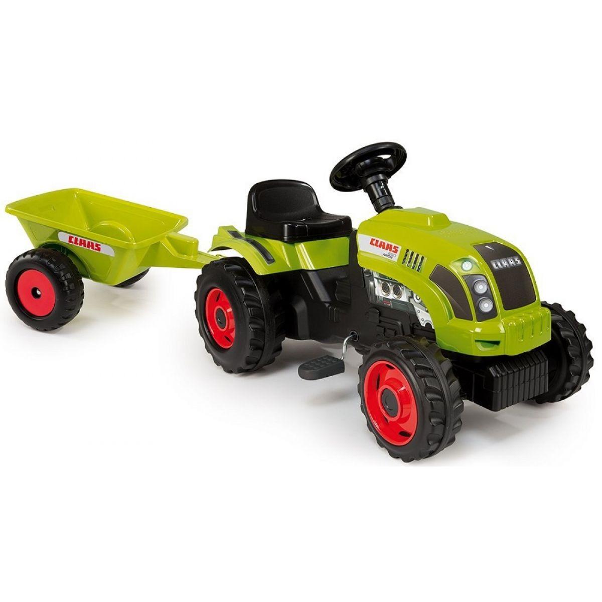 Smoby Šlapací traktor Class s vozíkem