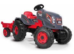 Smoby Šlapací traktor Stronger XXL s vozíkem