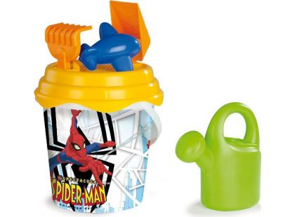 Smoby Spiderman Kyblíček s konvičkou a příslušenstvím