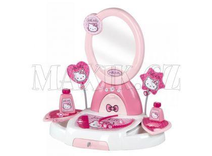 Smoby Toaletní stolek Hello Kitty s příslušenstvím