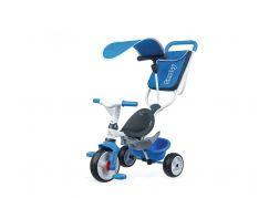 Smoby Tříkolka Baby Balade 2 3v1 modrá