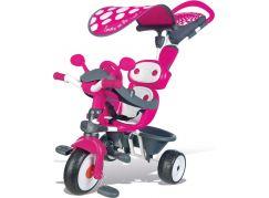 Smoby Tříkolka Baby Driver Confort růžová