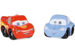 Smoby Vroom Planet Dvě autíčka Cars 2 v dárkovém balení, 2 druhy Blesk McQueen a Sally