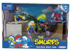 Šmoulové sada 4 figurky - Extrémní sportovci