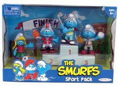 Šmoulové sada 4 figurky - Sportovci