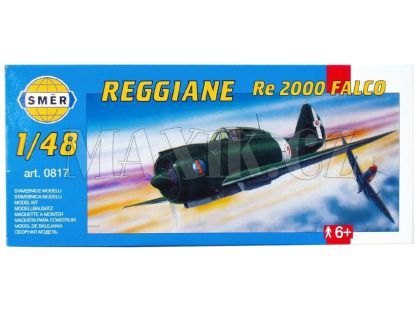 Směr Model letadla 1:48 Reggiane RE 2000 Falco