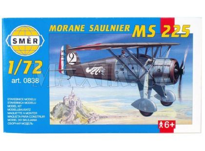 Směr Model letadla 1:72 Morane Saulnier MS 225