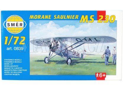 Směr Model letadla 1:72 Morane Saulnier MS 230