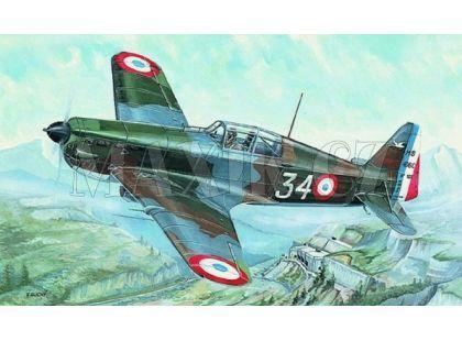 Směr Model letadla 1:72 Morane Saulnier MS 406