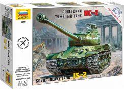 Zvezda Snap Kit tank 5011 IS-2 Stalin 1:72