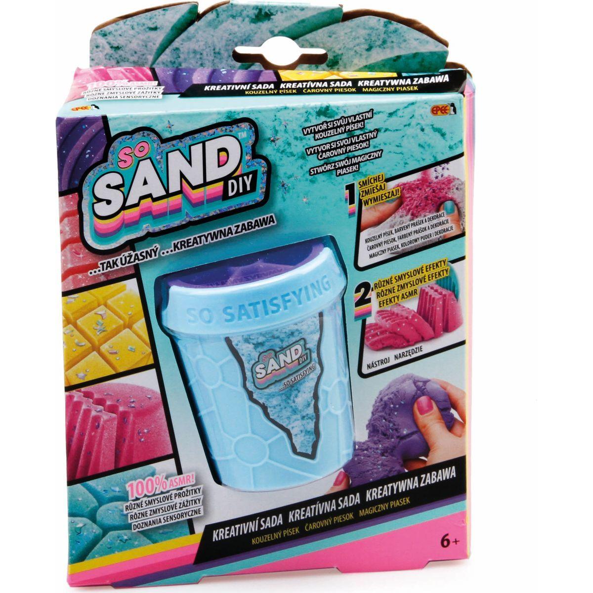 So Sand kouzelný písek 1pack modrý