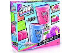 So Sand kouzelný písek 2pack růžový s modrým