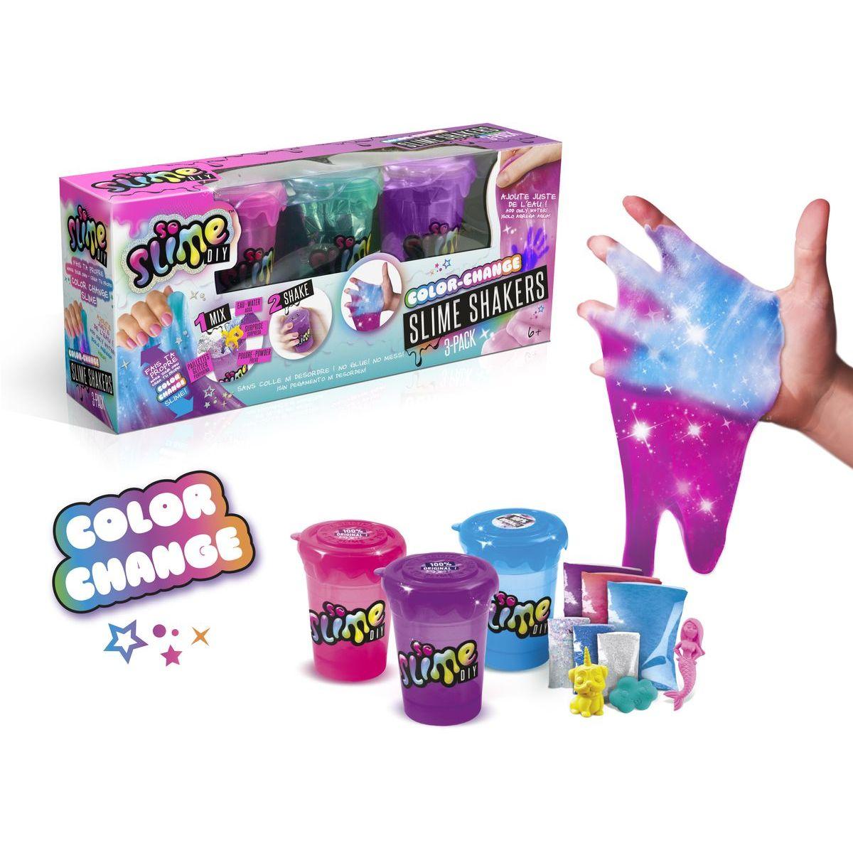 So Slime Shaker 3 pack mění barvu