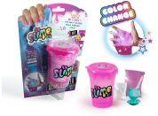 So Slime Shaker mění barvu růžový