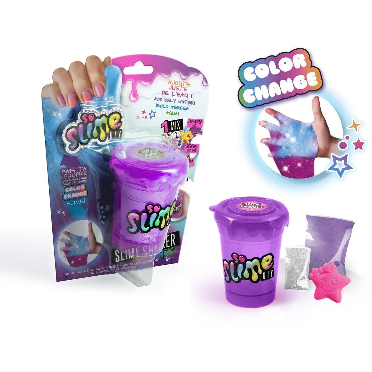 So Slime Shaker mění barvu fialový