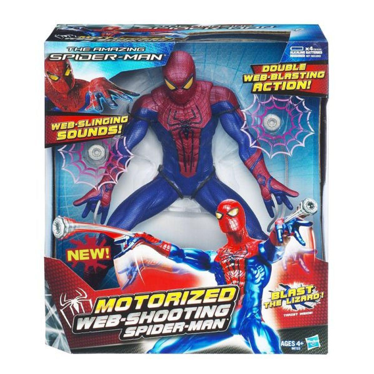 Spiderman figurka vystřelující pavučinu Hasbro 98723