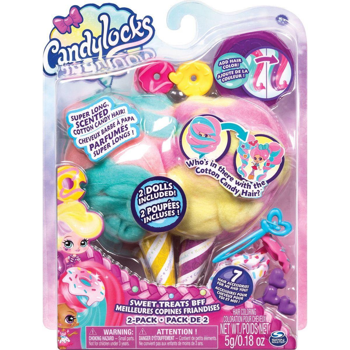 Spin Master Candylocks Cukrové panenky s vůní dvojbalení donutová 20114331
