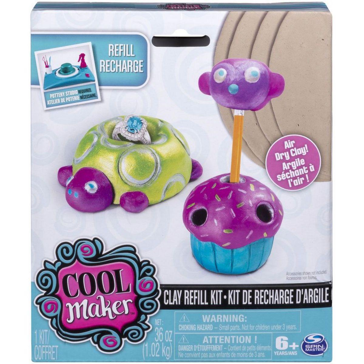 Spin Master Cool Maker náhradní hliněné placky