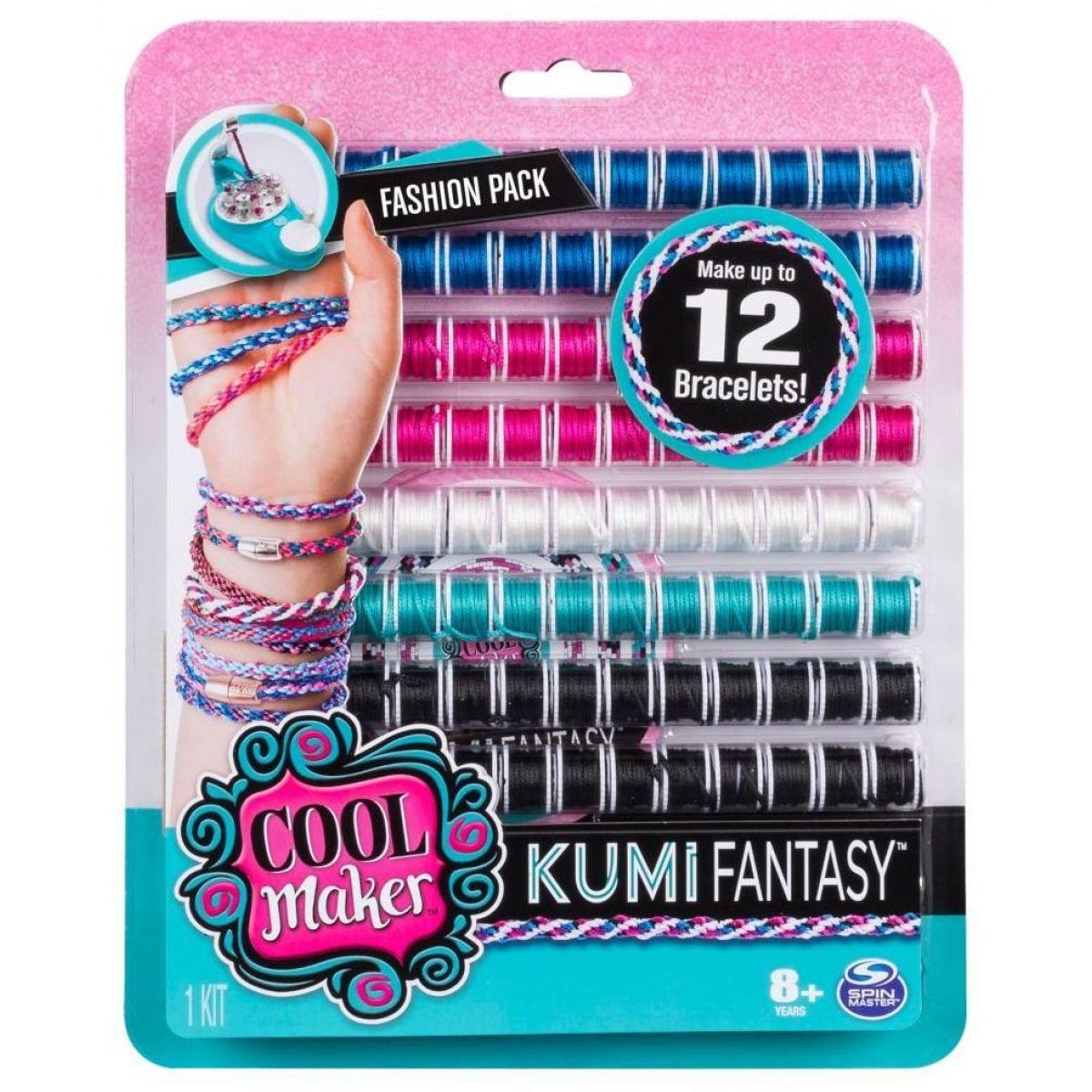 Spin Master Cool Maker náhradní nitě pro náramkovač modro-růžovo-bílá