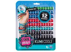 Spin Master Cool Maker náhradní nitě pro náramkovač zeleno-modro-červená