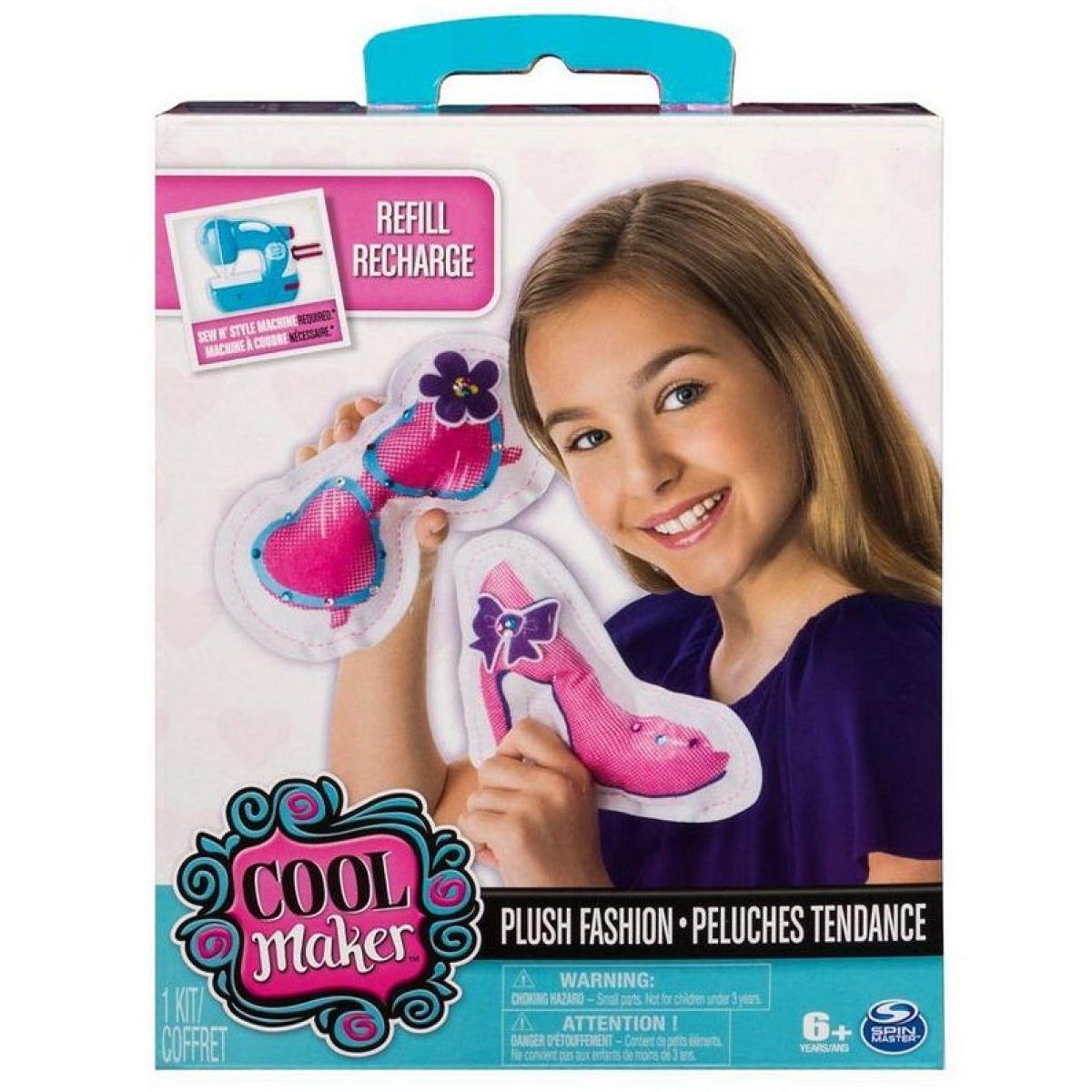 Spin Master Cool Maker šicí sada plyšových doplňků móda