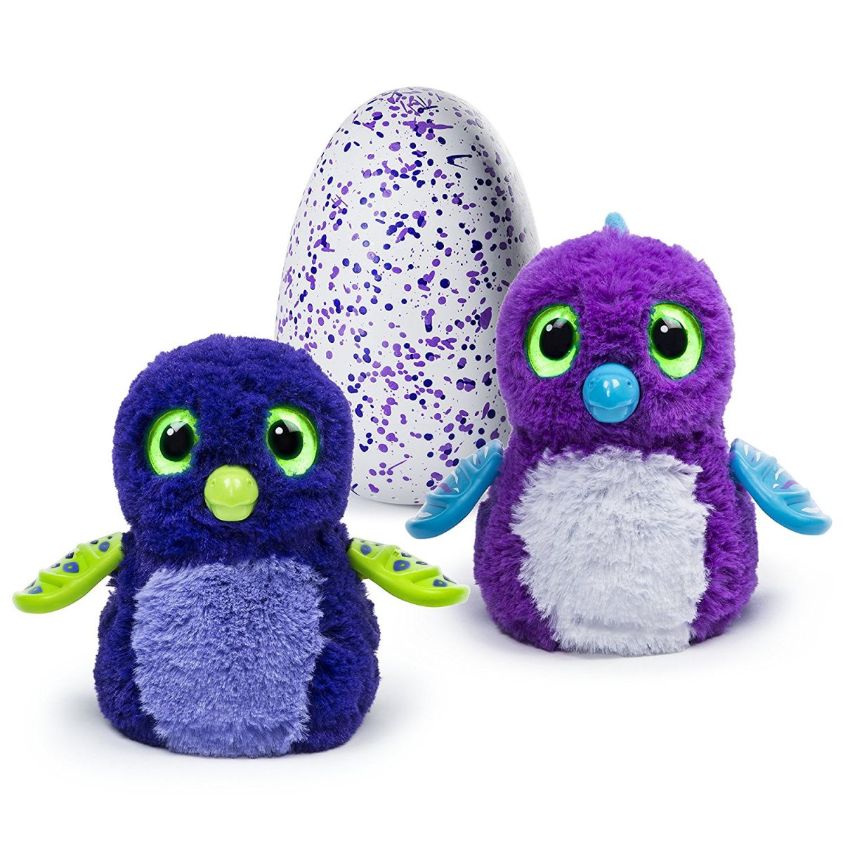 Spin Master Hatchimals draggles fialové