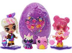 Spin Master Hatchimals kosmické panenky pixies fialové vajíčko