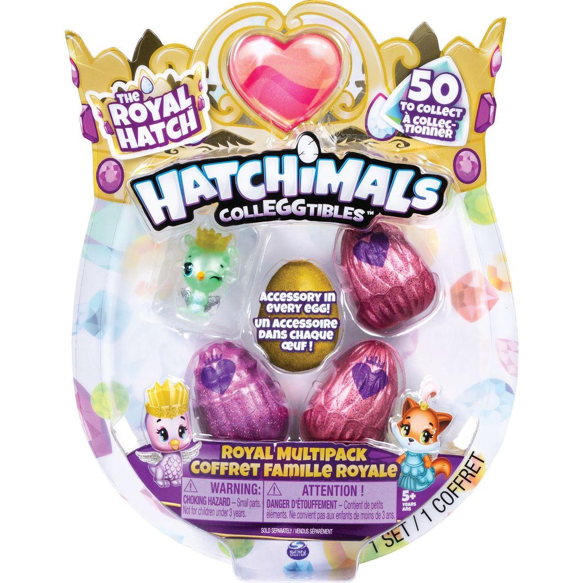 Spin Master Hatchimals Královská zvířátka čtyřbalení s bonusem S6