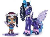 Spin Master Hatchimals pixies panenky se zvířátkem a doplňky fialové-růžová křídla