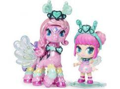 Spin Master Hatchimals pixies panenky se zvířátkem a doplňky světle růžové-fialová křídla