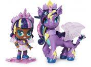 Spin Master Hatchimals pixies panenky se zvířátkem a doplňky fialové-tyrkysová křídla