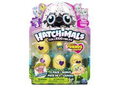 Spin Master Hatchimals sběratelská zvířátka ve vajíčku čtyřbalení s bonusem S3