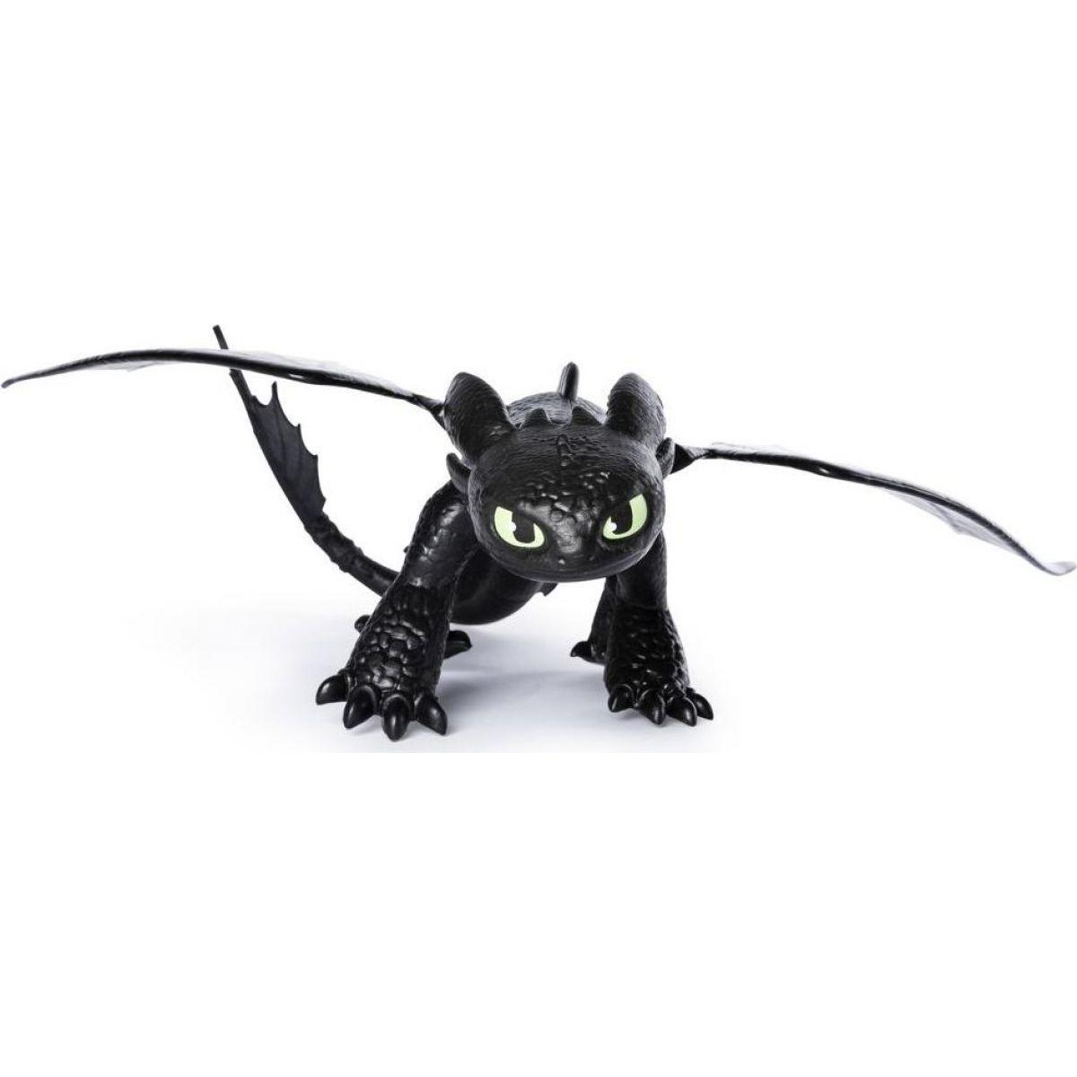 Spin Master Jak vycvičit Draka Základní figurky  Toothless černá
