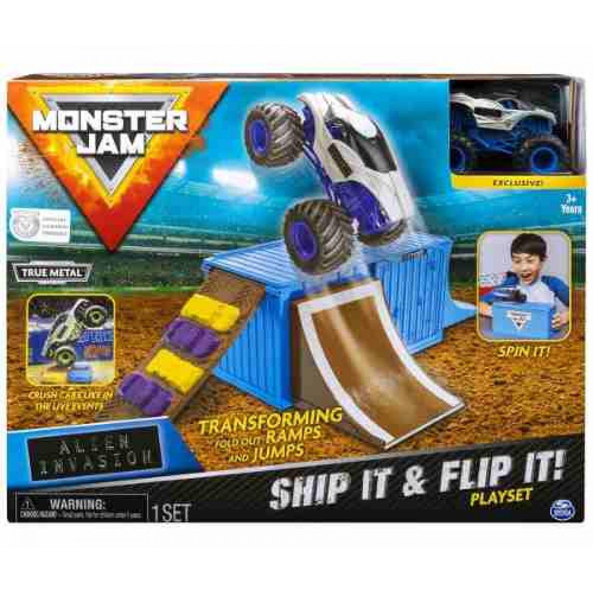 Spin Master Monster Jam 1:64 Hrací sada Alien Invasion