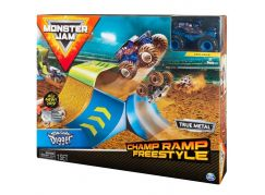 Spin Master Monster Jam 1:64 Hrací sada Champ Ramp Freestyle