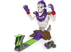 Spin Master Monster Jam hrací sada Kostlivec