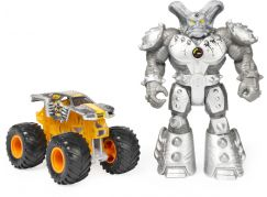 Spin Master Monster Jam kovové auto s figurkou Max-D a Maximus